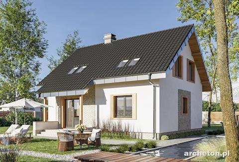 Projekt domu Kuklik