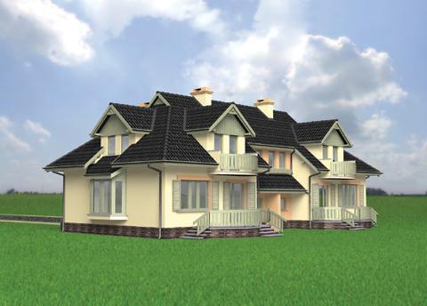 Projekt domu Kumak Duo