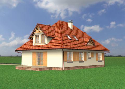Projekt domu Kurdesz