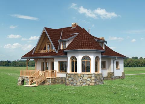 Projekt domu Kurza Stopka