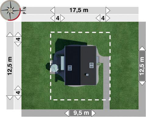Projekt domu Lajkonik