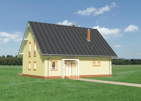 Projekt domu Lajkonik Eko