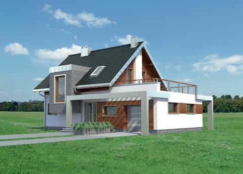 Projekt domu Lara