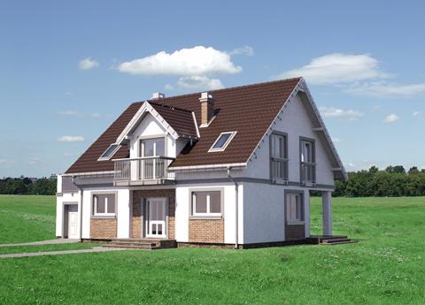 Projekt domu Largo