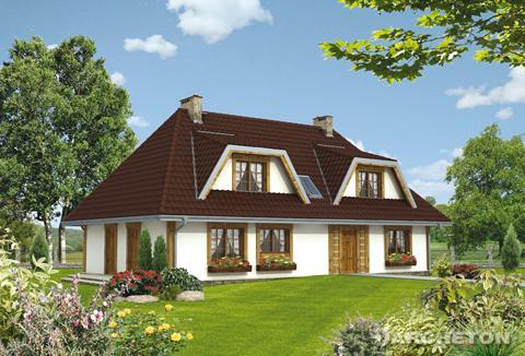 Projekt domu Laskowiak