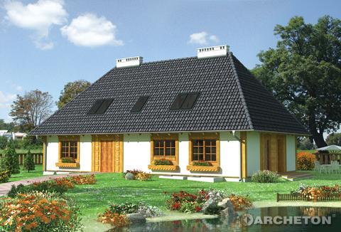 Projekt domu Lasowiak