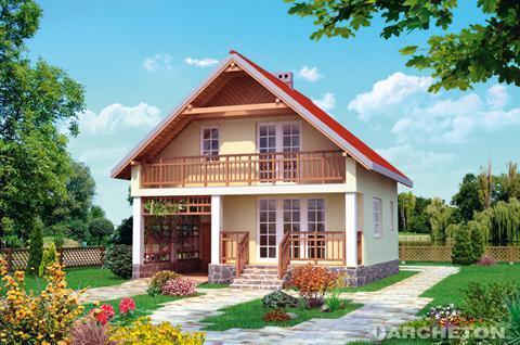 Projekt domu Letnisko