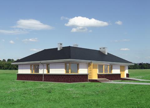 Projekt domu Lidia