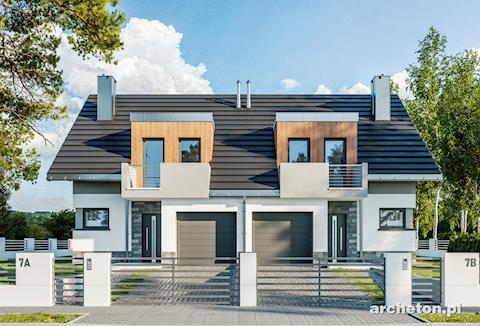 Projekt domu Lila Duo
