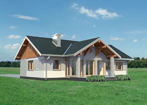 Projekt domu Lilak