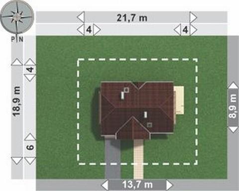 Projekt domu Lipczyk