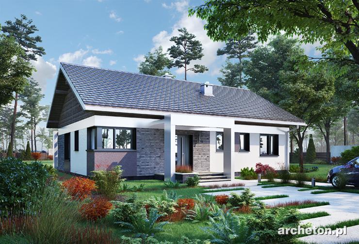 Projekt domu Liwia