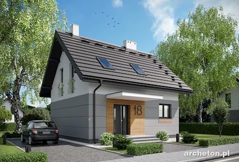 Projekt domu Liza