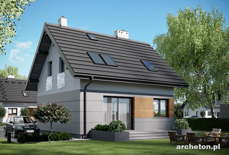 Projekt domu Liza - Liza oferuje doskonale rozplanowaną otwartą przestrzeń parteru