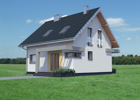 Projekt domu Liza Karo