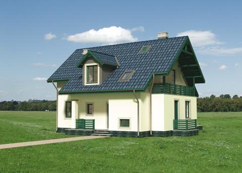 Projekt domu Longin
