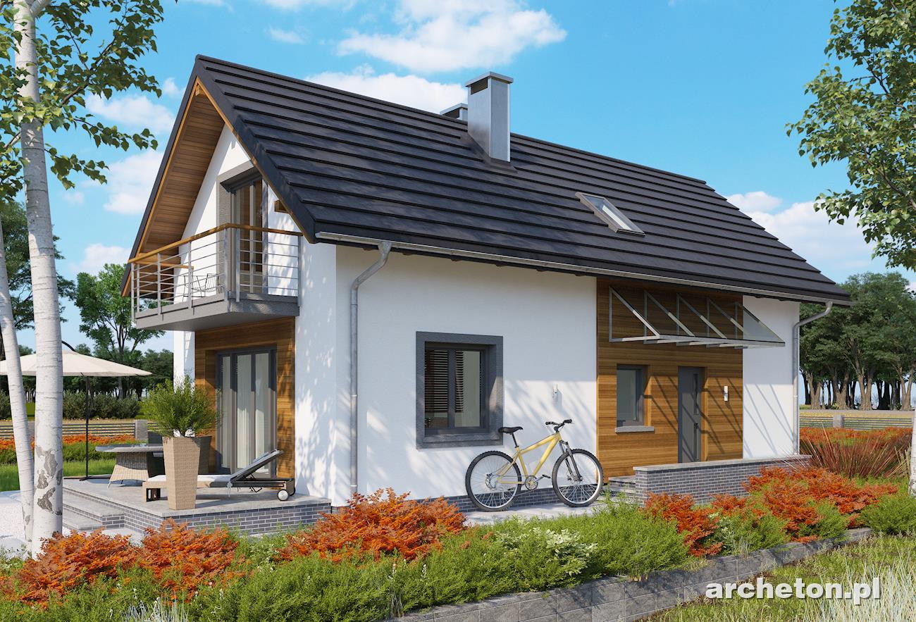 Небольшой загородный дом с площадью 125 m? dom4m россия.