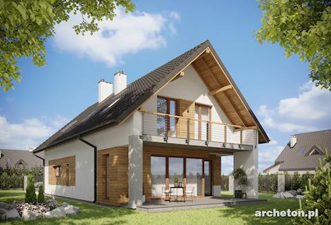 Projekt domu Lorena