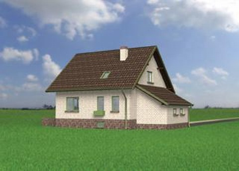 Projekt domu Lubczyk