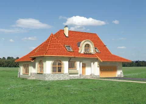 Projekt domu Lubicz