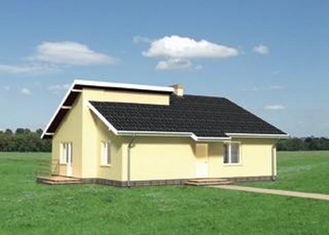 Projekt domu Łupina