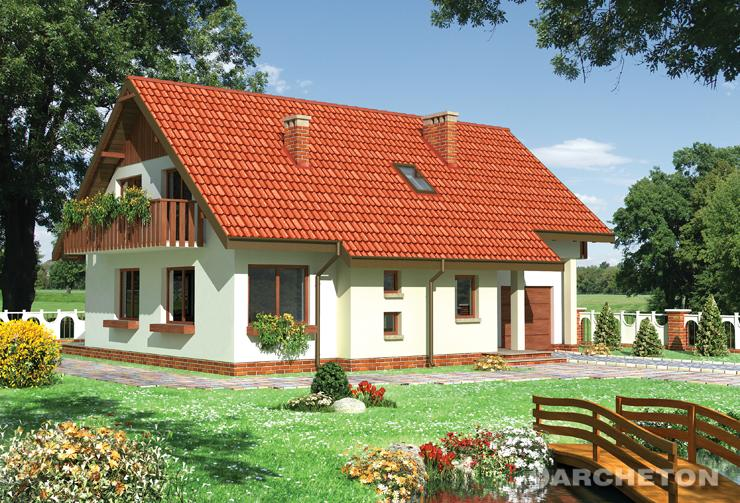 Projekt domu Maciejka - funkcjonalny dom z gabinetem na parterze