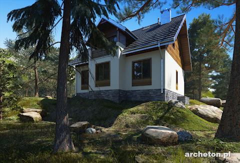 Projekt domu Macierzanka