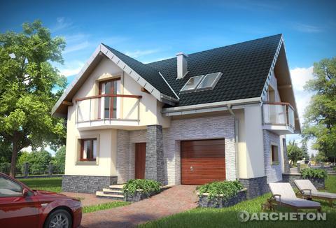 Projekt domu Magnus