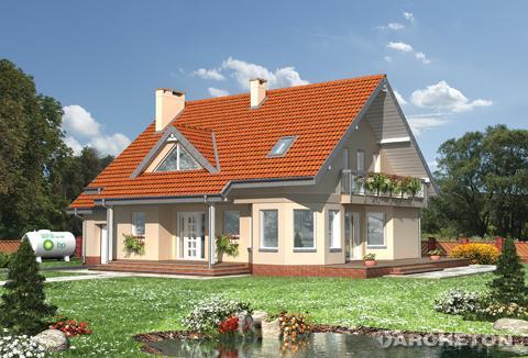 Projekt domu Maja-2