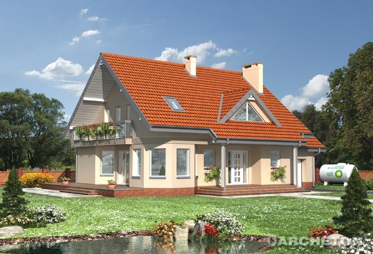 Projekt domu Maja-2 - dom ze spiżarnią oraz pralnią na parterze