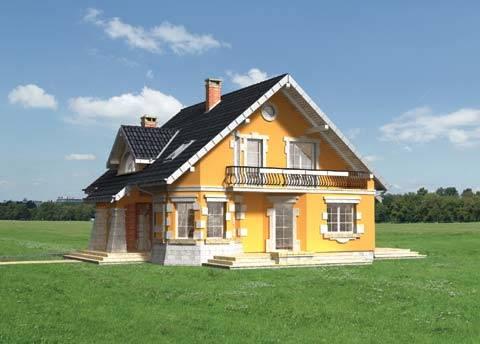 Projekt domu Maja Krak
