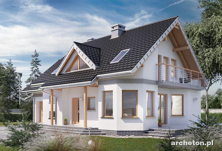 Projekt domu Maja Polo Mini - mały i przytulny domek z rodziny projektu Maja