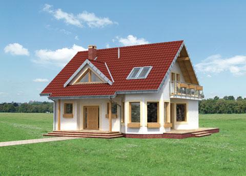 Projekt domu Maja Solo