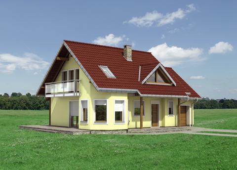 Projekt domu Majka Polo
