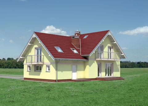 Projekt domu Majka Tytan G2
