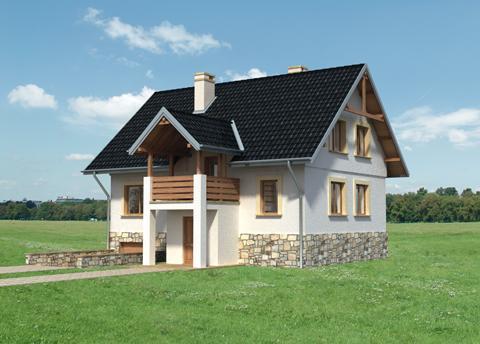 Projekt domu Mak