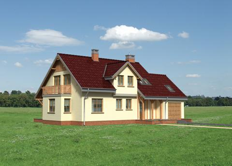 Projekt domu Makary
