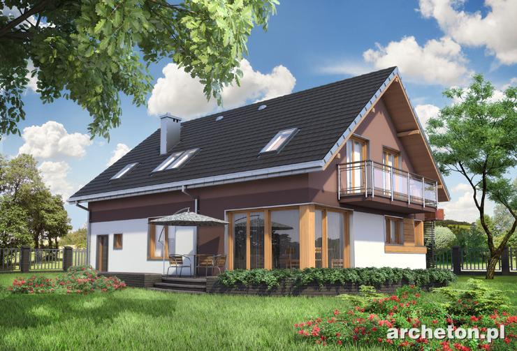 Projekt domu Maksym - propozycja domu jednorodzinnego dla osób szukających nowoczesnych rozwiązań