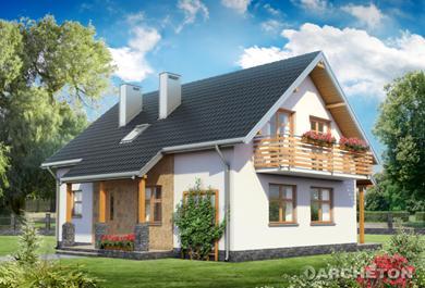 Projekt domu Malachit