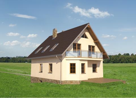 Projekt domu Mała Marzanna