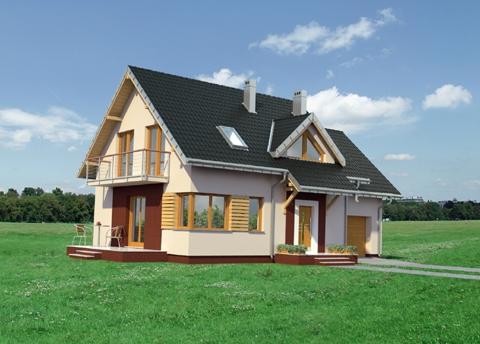 Projekt domu Malina
