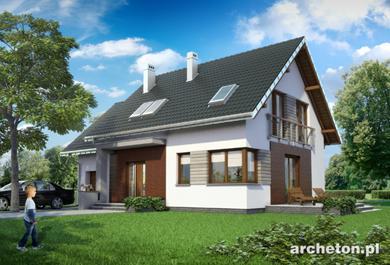 Projekt domu Malina Alfa