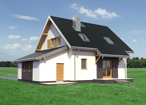 Projekt domu Malina Bobo
