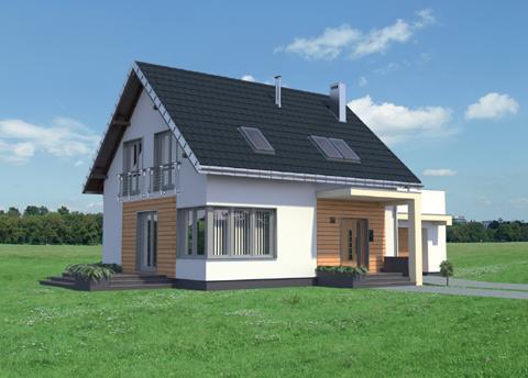 Projekt domu Malina Sto