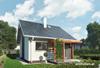 Projekt domu Maluch - mały i przytulny domek z jednym pokojem
