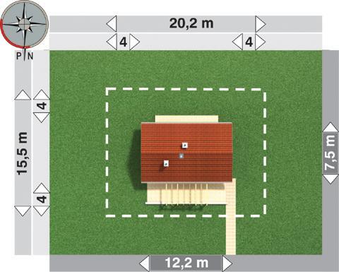 Projekt domu Maluch Bis