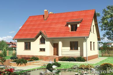 Projekt domu Malwa