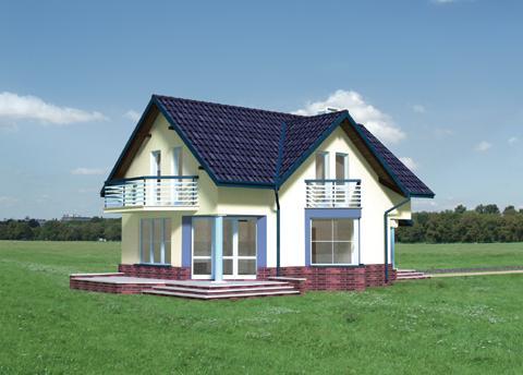 Projekt domu Mały Tukan