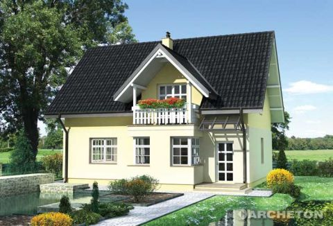 Projekt domu Marcel