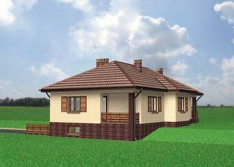 Projekt domu Marcelina